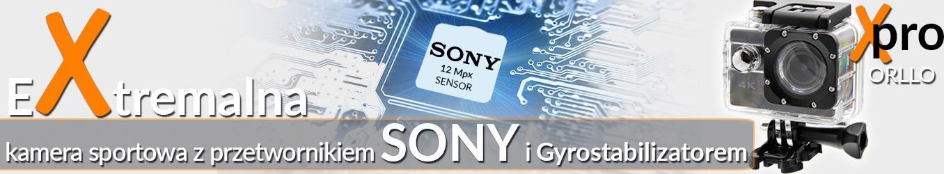 kamera sportowa z sensorem Sony