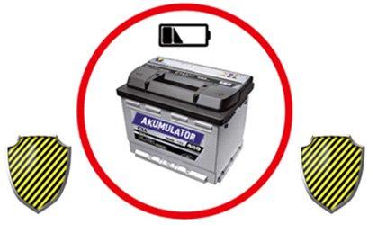 ochrona akumulatora przed rozładowaniem