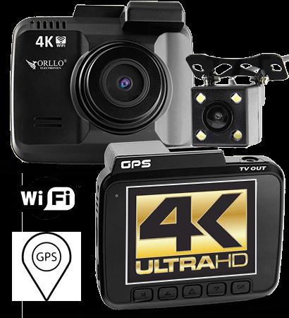 kamera 4K dual z kamerą cofania orllo.pl