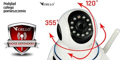 kamera bezprzewodowa ip obrotowa