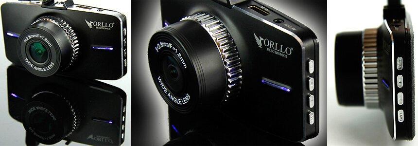 Nowoczesny design wideorejestratora