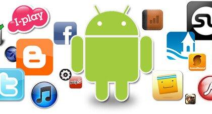 wiele aplikacji ze sklepu Google Play
