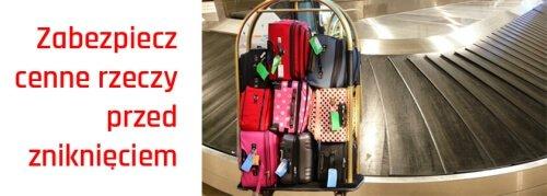 zabezpiecz swój bagaż podczas podróży