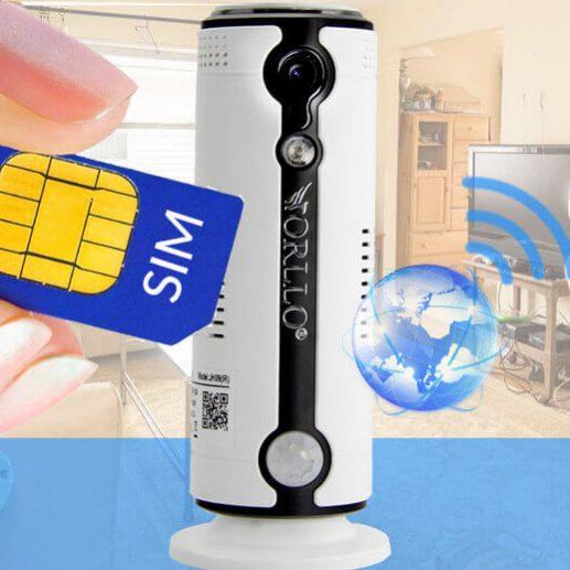Kamera  Bezprzewodowa Gsm na Kartę SIM 3G 4G LTE do domu mieszkania biura sklepu  Ranking 2019