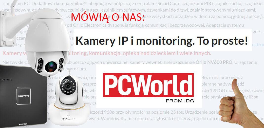 Kamera IP Wifi bezprzewodowa do domu biura firmy sklepu w PCWorld Recenzja opinie Ranking 2019