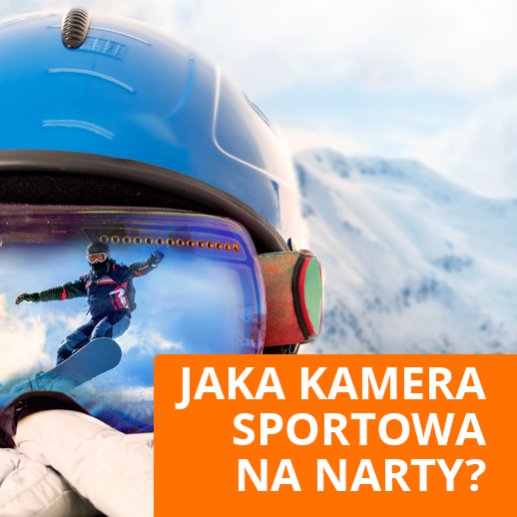 Jaka Kamera Sportowa na Kask Narciarski ⛷? Jaką Wybrać Kupić  na ❄ Zimę?