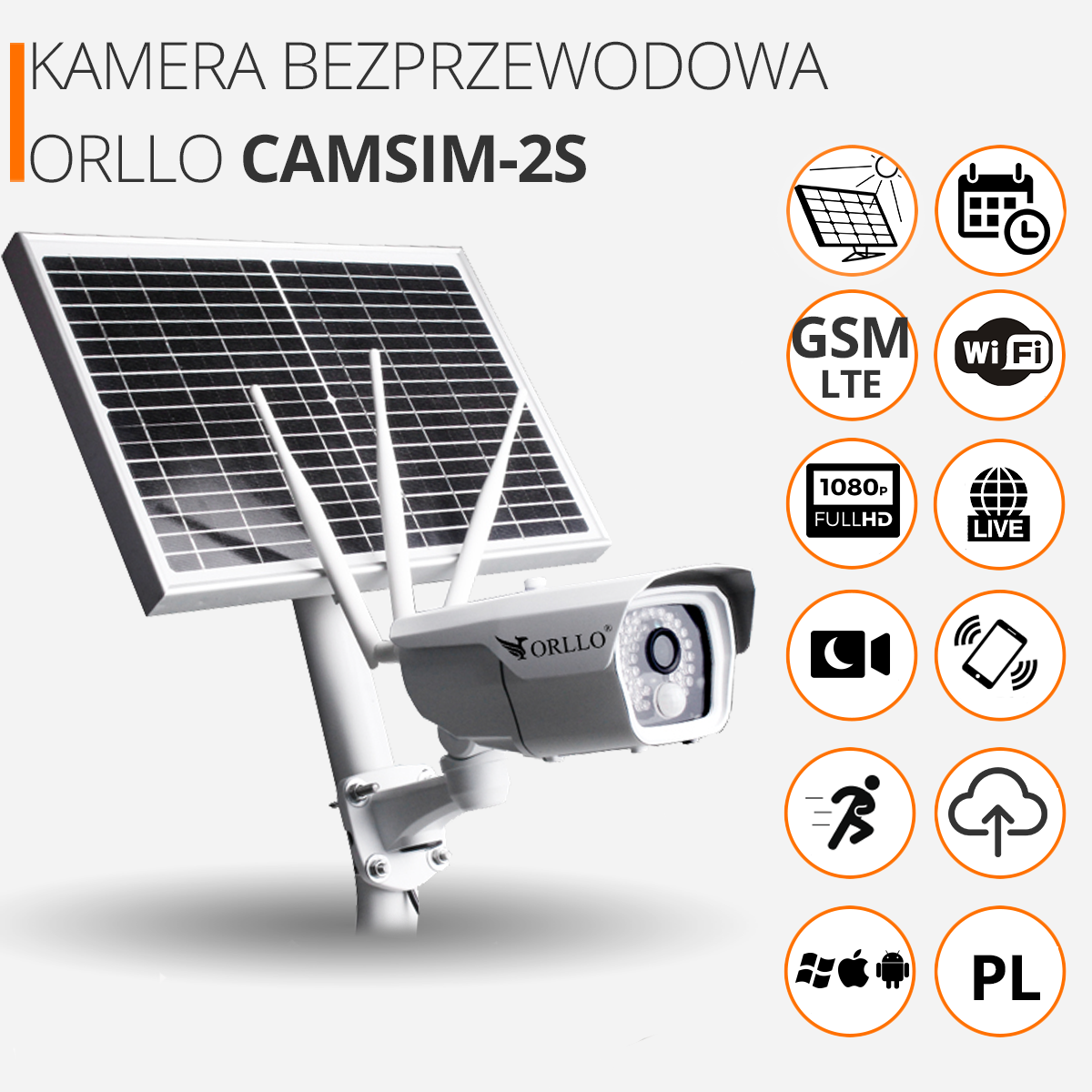 kamera całoroczna system gsm lte orllo cena sklep