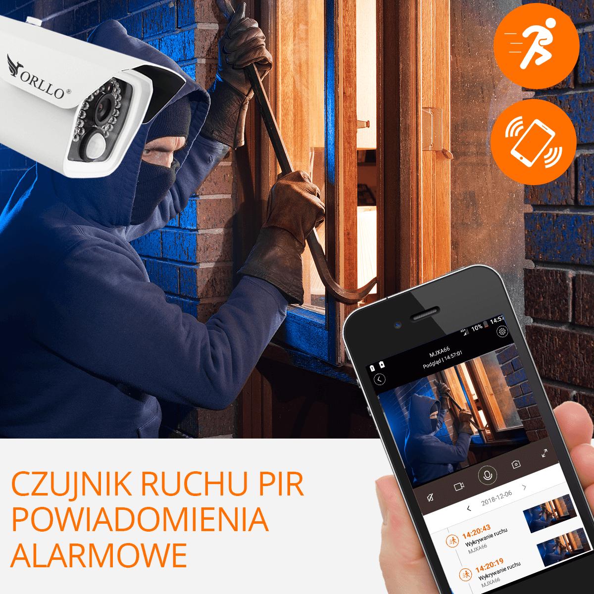 monitoring mobilny kamera mobilna gsm z zasilaniem orllo