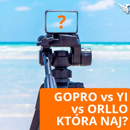 Ranking 2019 Test Kamera sportowa Gopro Hero 4 vs Orllo 4K XPro Touch z Gps vs Xiaomi YI 4K Opinie Forum