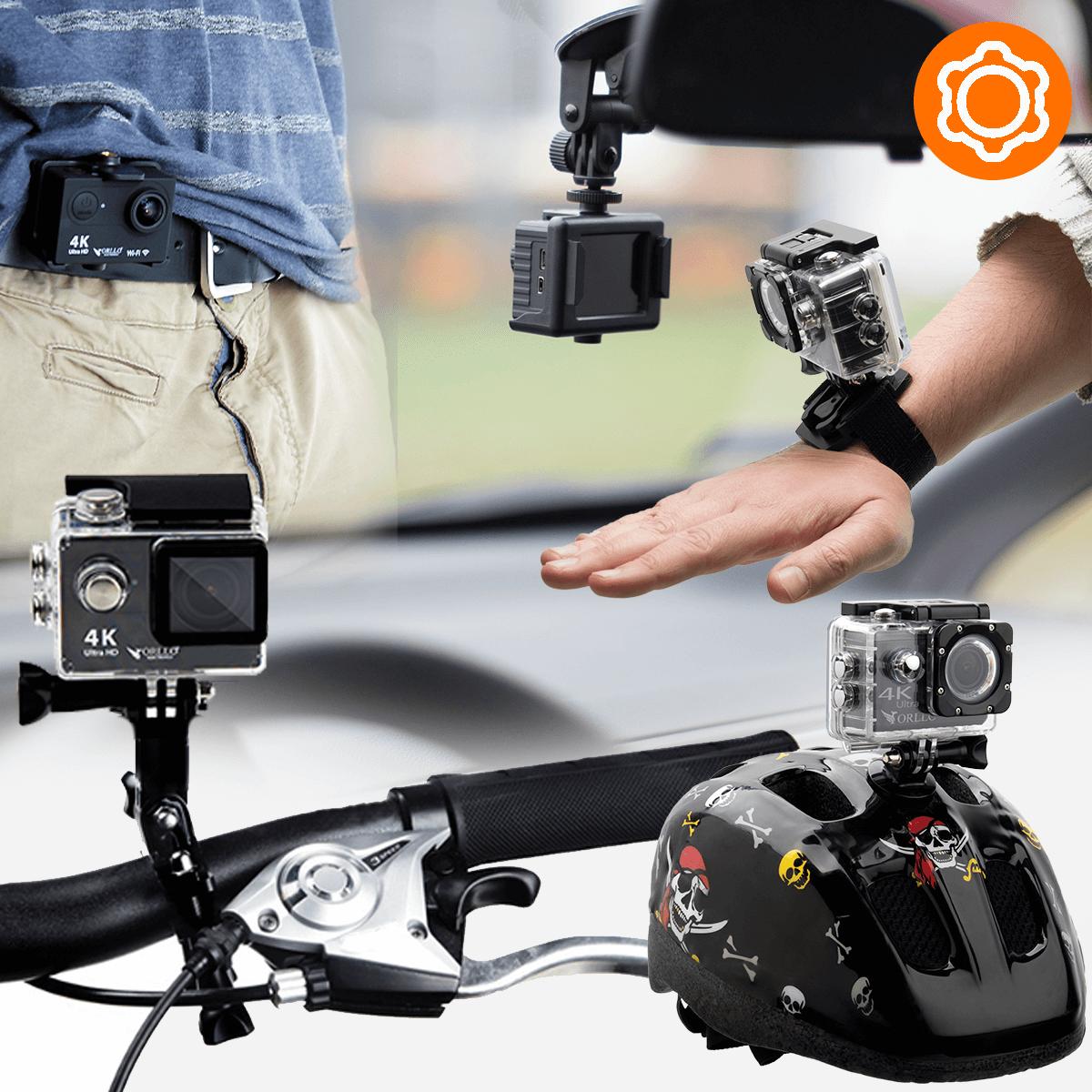 kamera sportowa akcesoria montazowe
