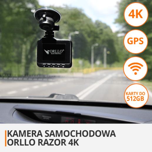 Ranking 2019 Kamera samochodowa przód tył 4K Dual z Gps Z Wifi z kamerą cofania
