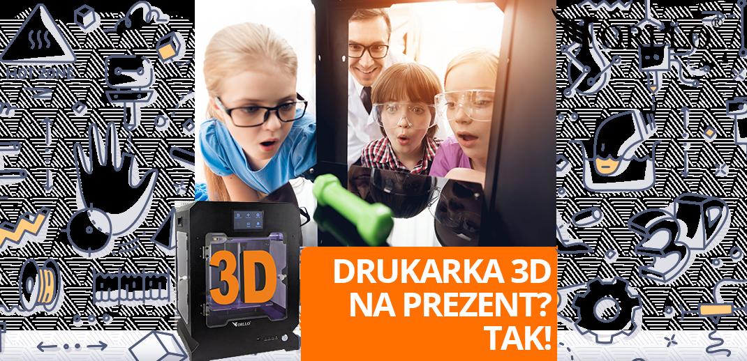 Świat 3D Drukarka Orllo F3D Profi Ucz się drukować 3D Dla Ciebie i Twojego dziecka ! Wspaniały prezent dla Dziecka Chłopaka Mężczyzny Dla Niego i Dla  Niej