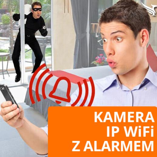 Kamera IP Wifi bezprzewodowa z alarmem do domu mieszkania firmy kamery do monitoringu Opinie Forum