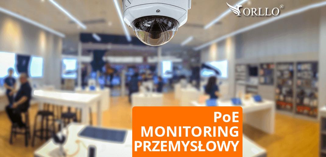 Monitoring przemysłowy CCTV POE Kamery zewnętrzne wewnętrzne przemysłowe IP Zestawy Kamer IP z rejestratorem Ranking Cena Opinie