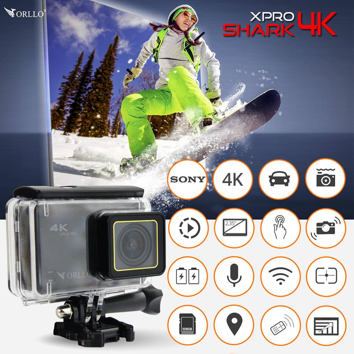 kamera sportowa 4k na narty