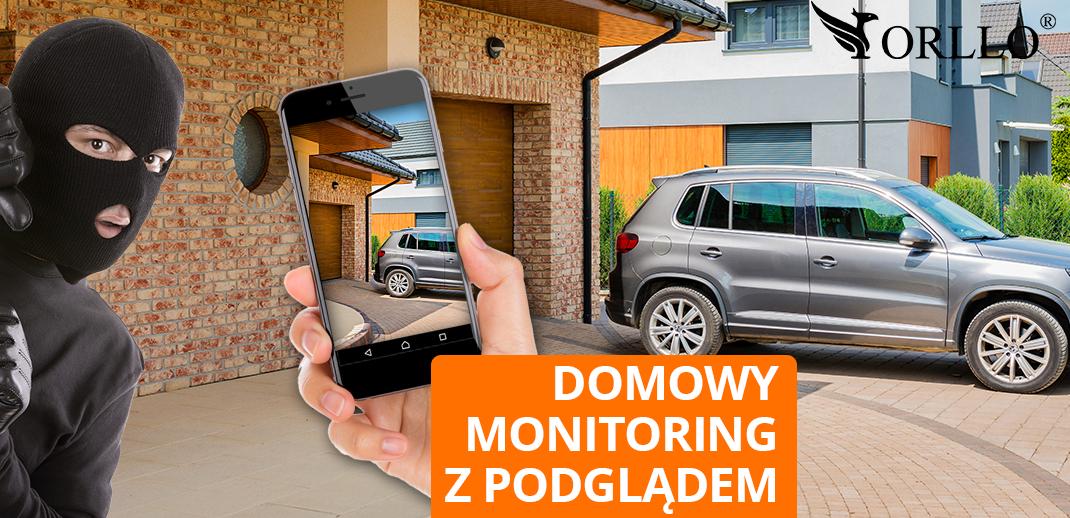 Domowy Monitoring z Podglądem z kamer na żywo w telefonie, laptopie? TO PROSTE!