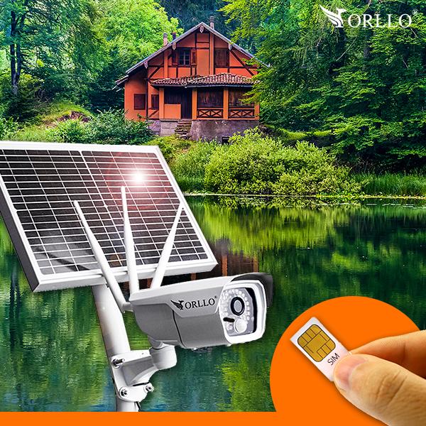 kamera zewnetrzna solarna na baterie