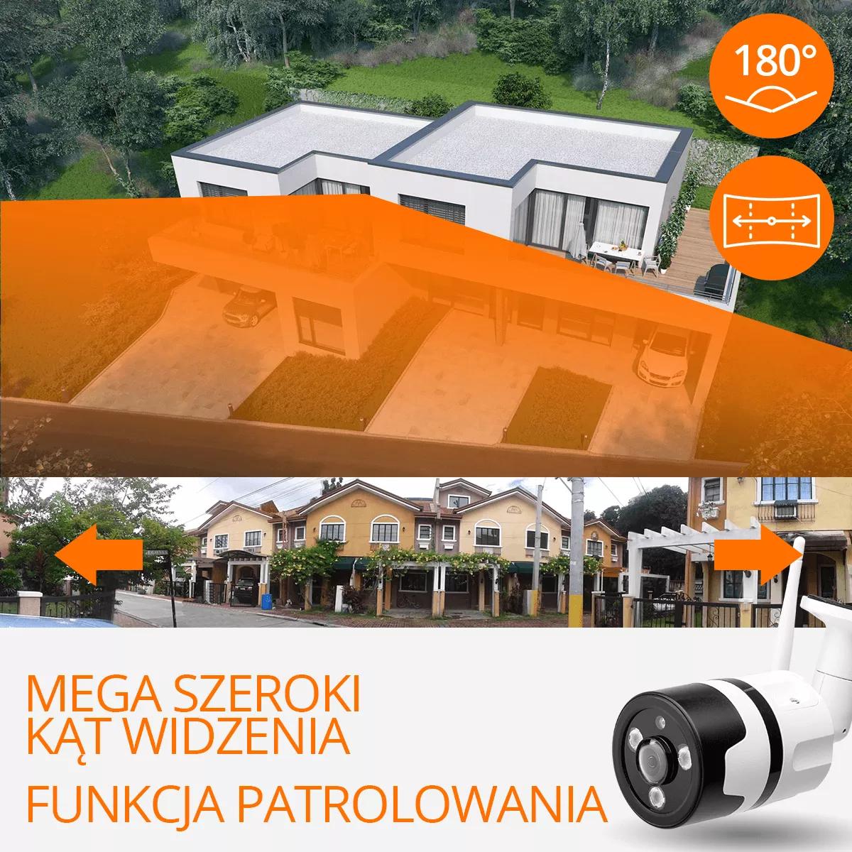kamera zewnetrzna szeroki kat orllo.pl