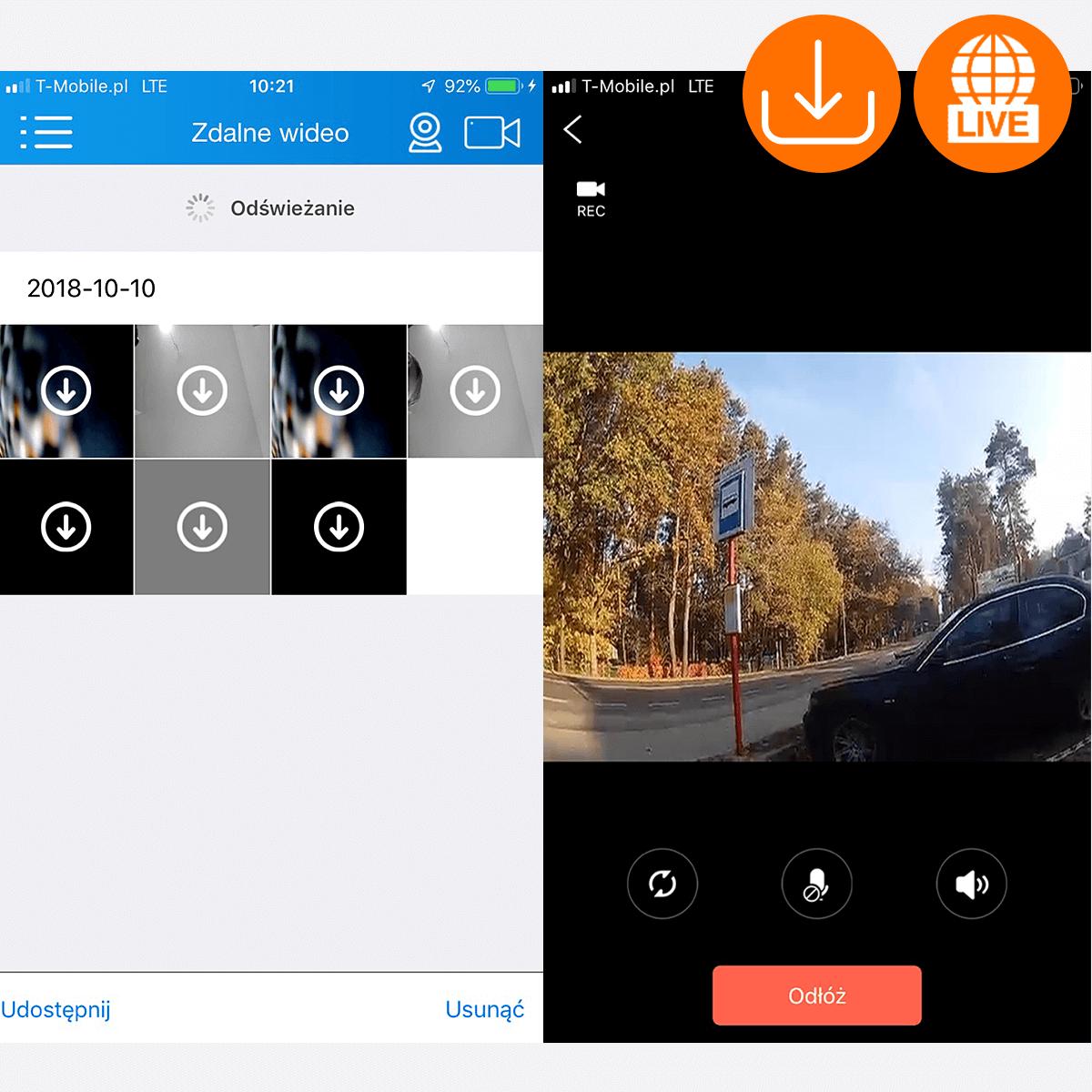 kamera do monitoringu samochodu na parkingu orllo.pl