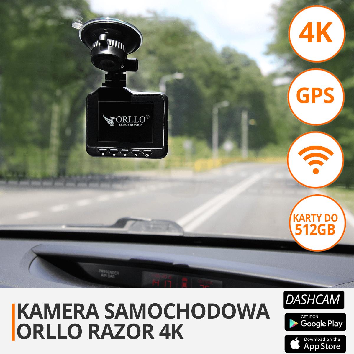 kamera samochodowa 4K orllo.pl