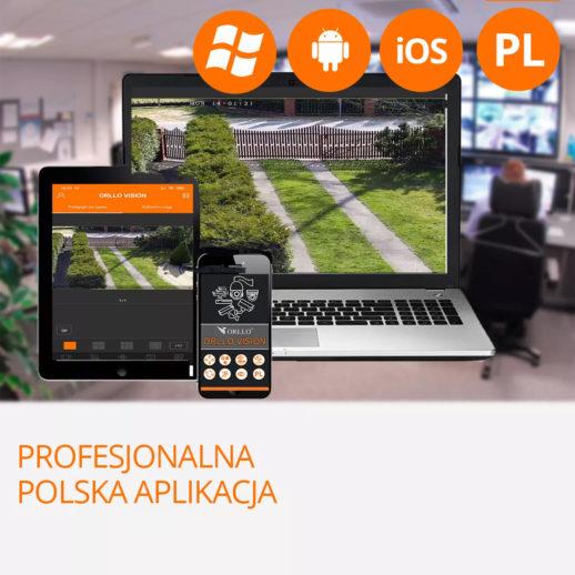darmowa polska aplikacja do kamer do monitorilngu orllo.pl