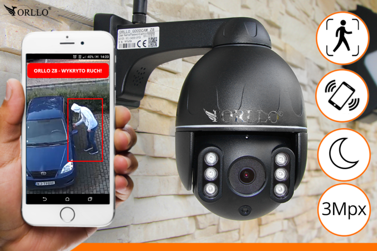 inteligenta kamera ip wifi orllo.pl