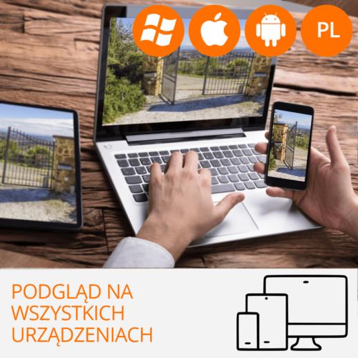 kamery IP z podglądem w telefonie monitoring przez internet orllo.pl