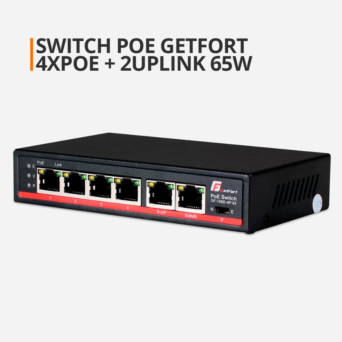 Switch GETFORT POE 4CH orllo.pl