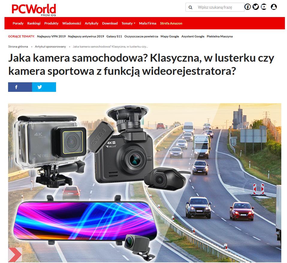 jaka kamera samochodowa testy opinie recenzja pcword orllo.pl