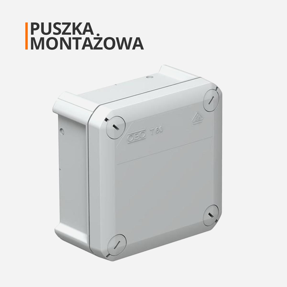 Puszka montażowa do kamer zewnętrznych orllo.pl