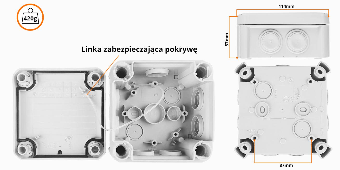 Specyfikacja puszki montazowej orllo.pl