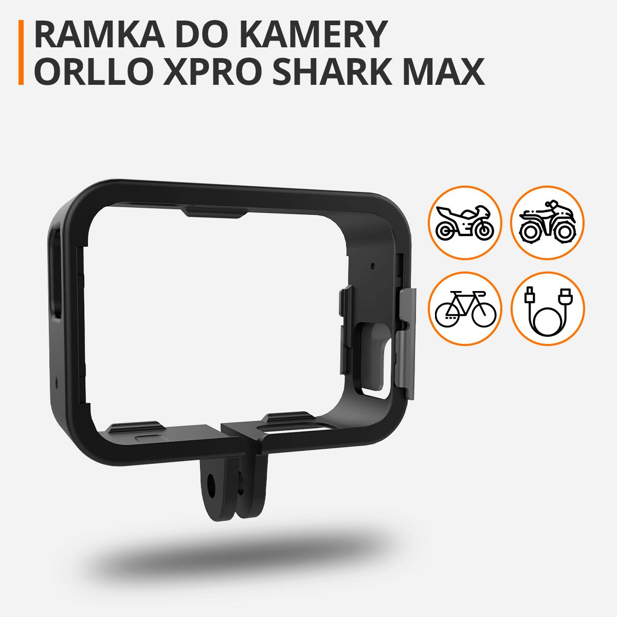 ramka-do-kasku-do-kamery-sportowej-xpro-shark-max-orllo-pl