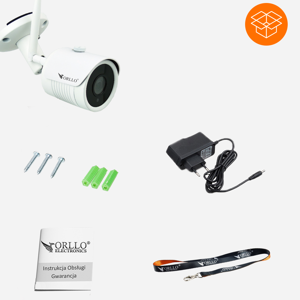 zestaw- kamera brzezprzwewodowa