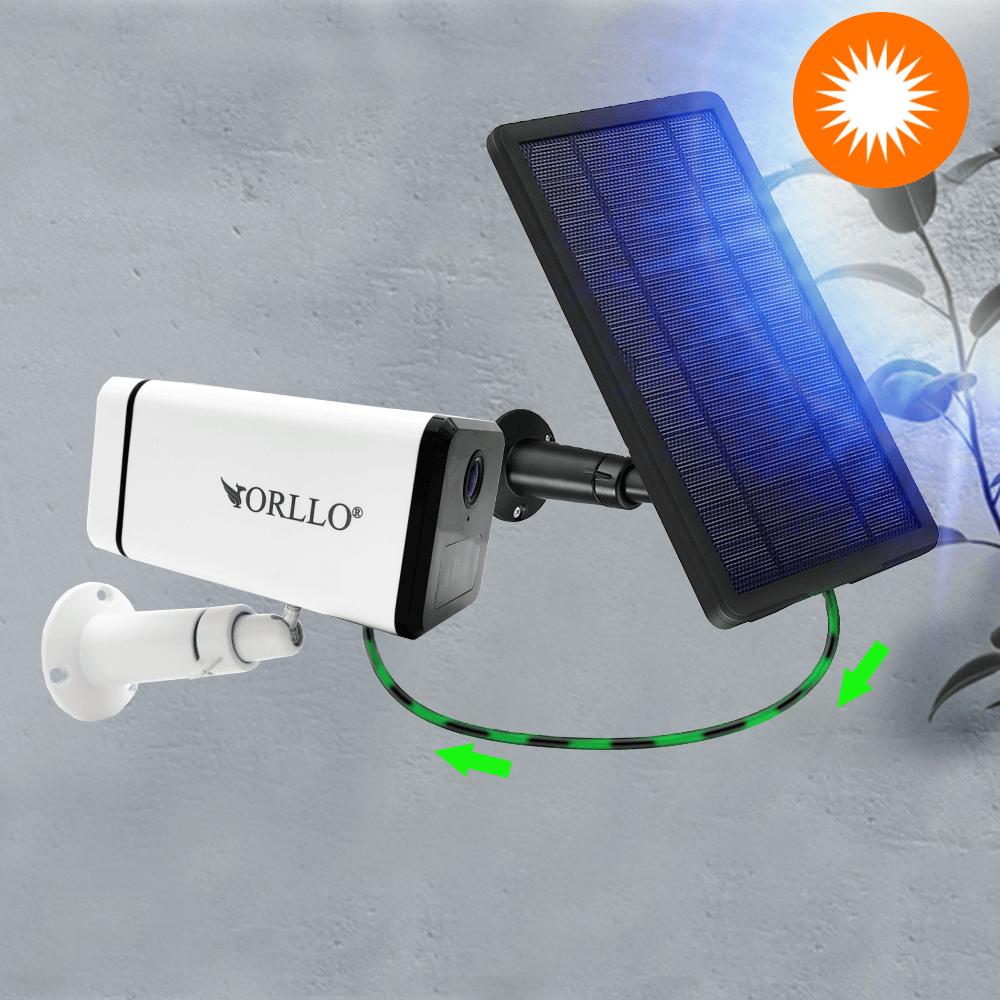 kamera na baterie z panelem solarnym orllo.pl