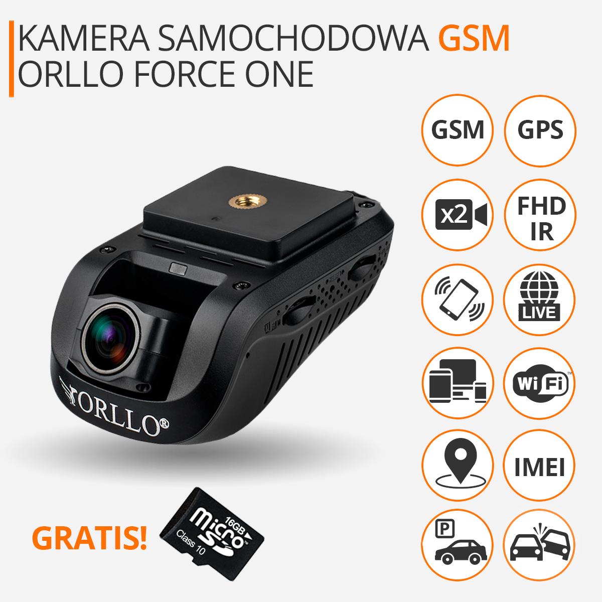 kamera samochodowa force one orllo.pl