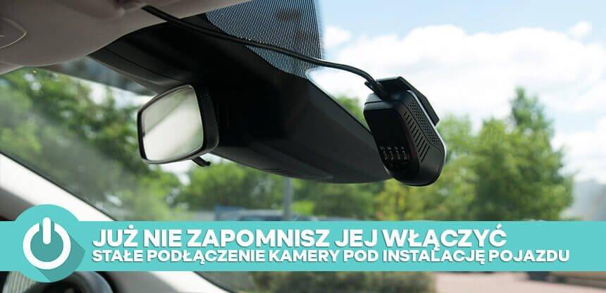 kamera samochodowa montowana na stałe