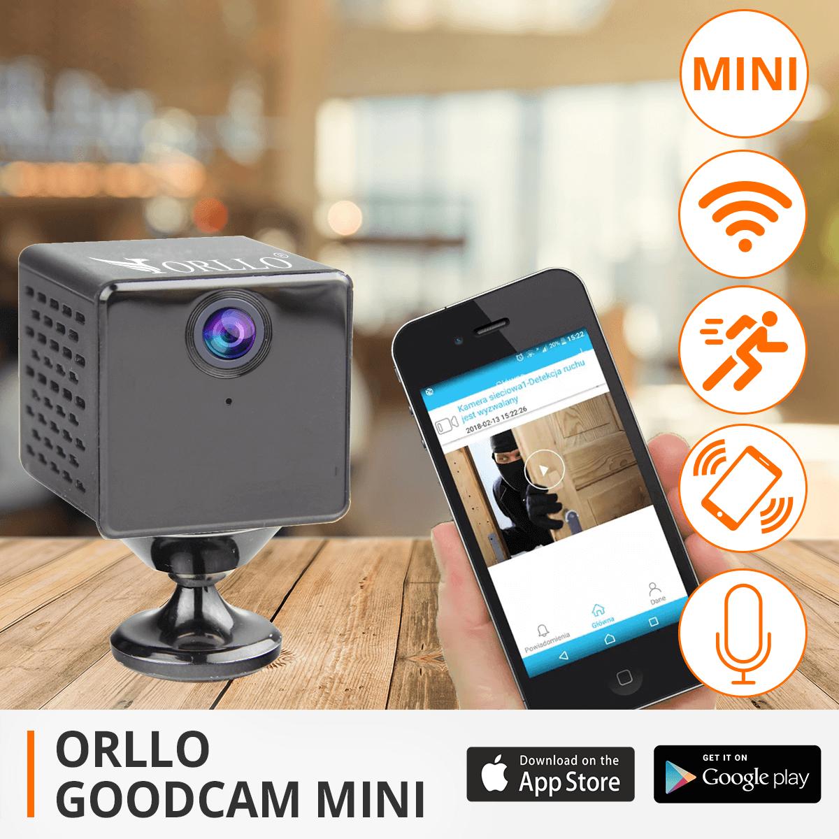 kamera iP wifi bezprzewodowa monitoring orllo.pl
