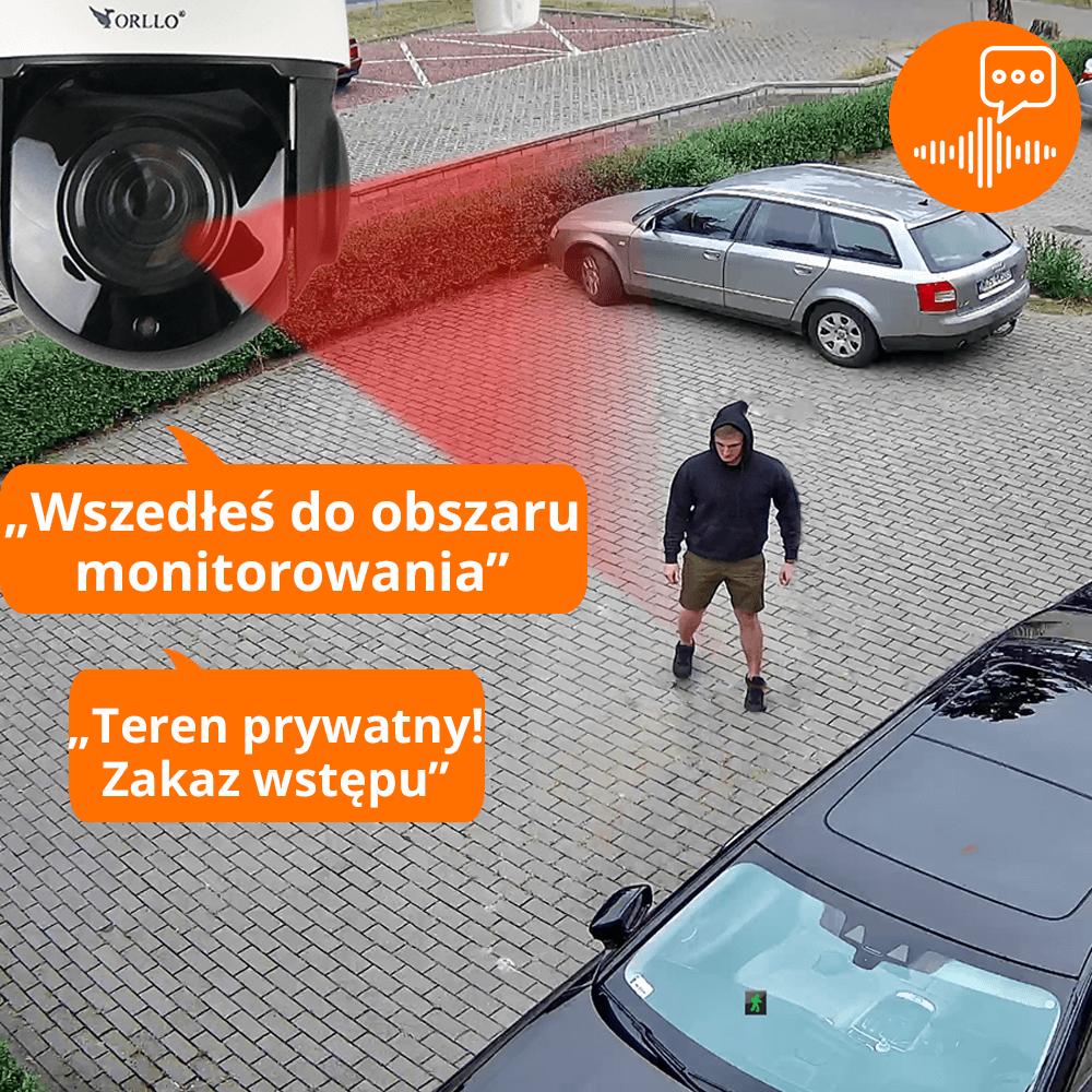 kamery Warszawa z podglądem alarm głosowy -orllo.pl