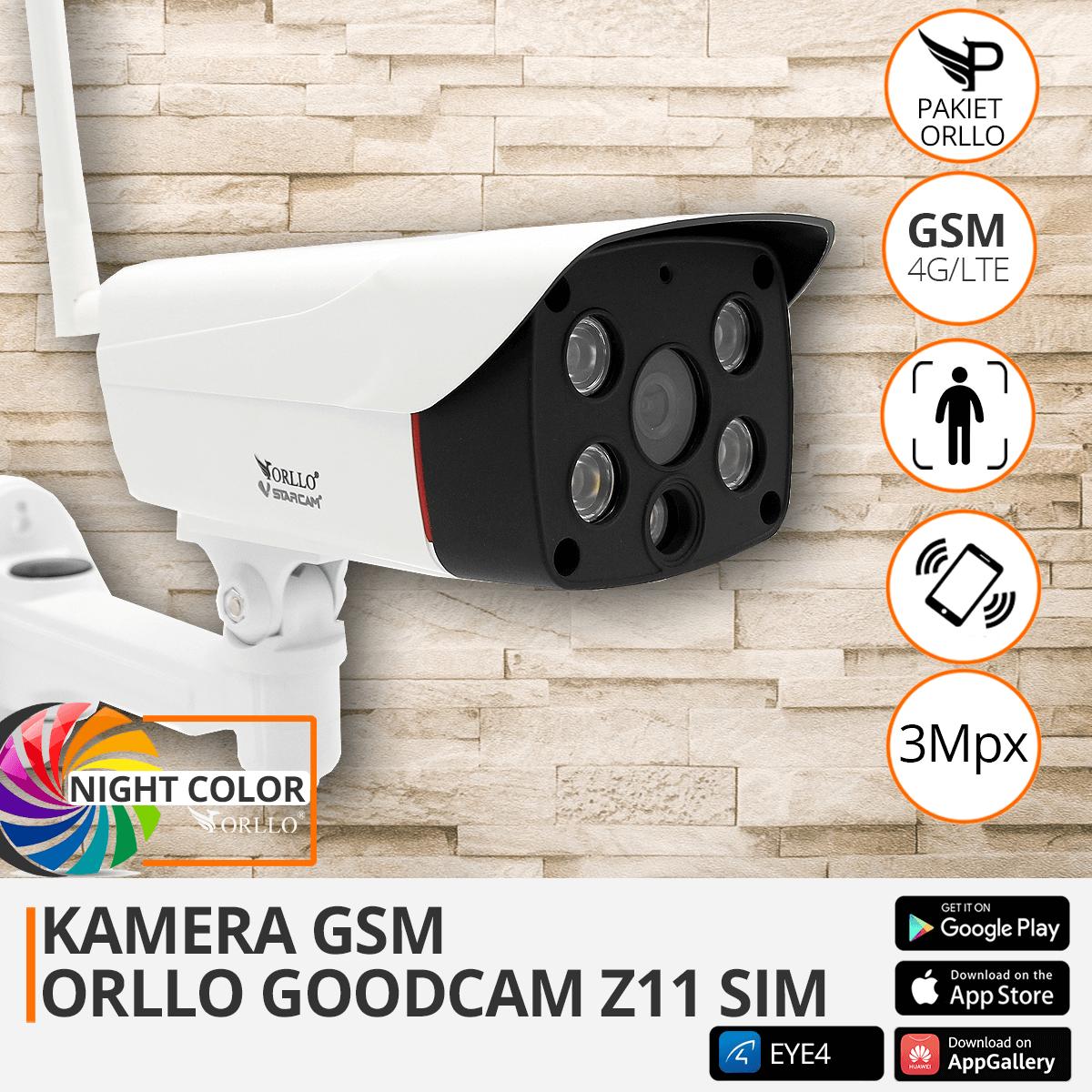 kamera zewnetrzna GSM orllo.pl