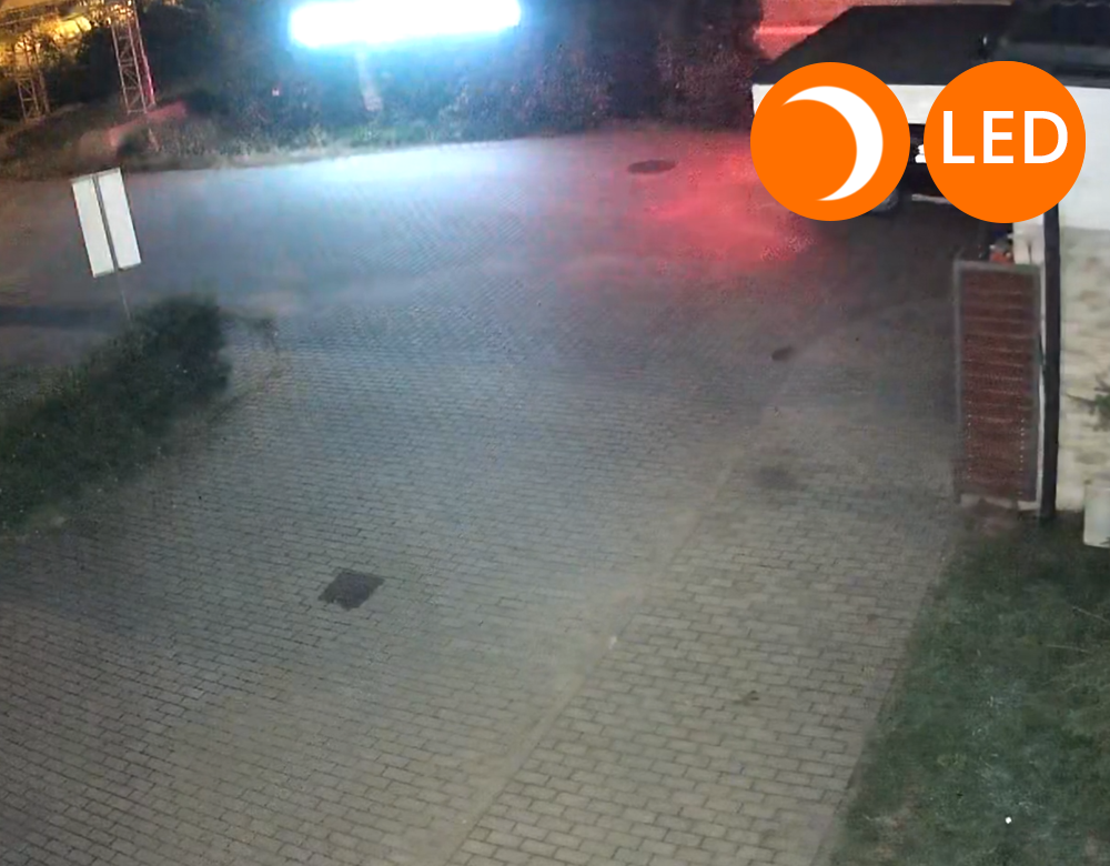 kamera gsm widok noc w kolorze LED orllo.pl