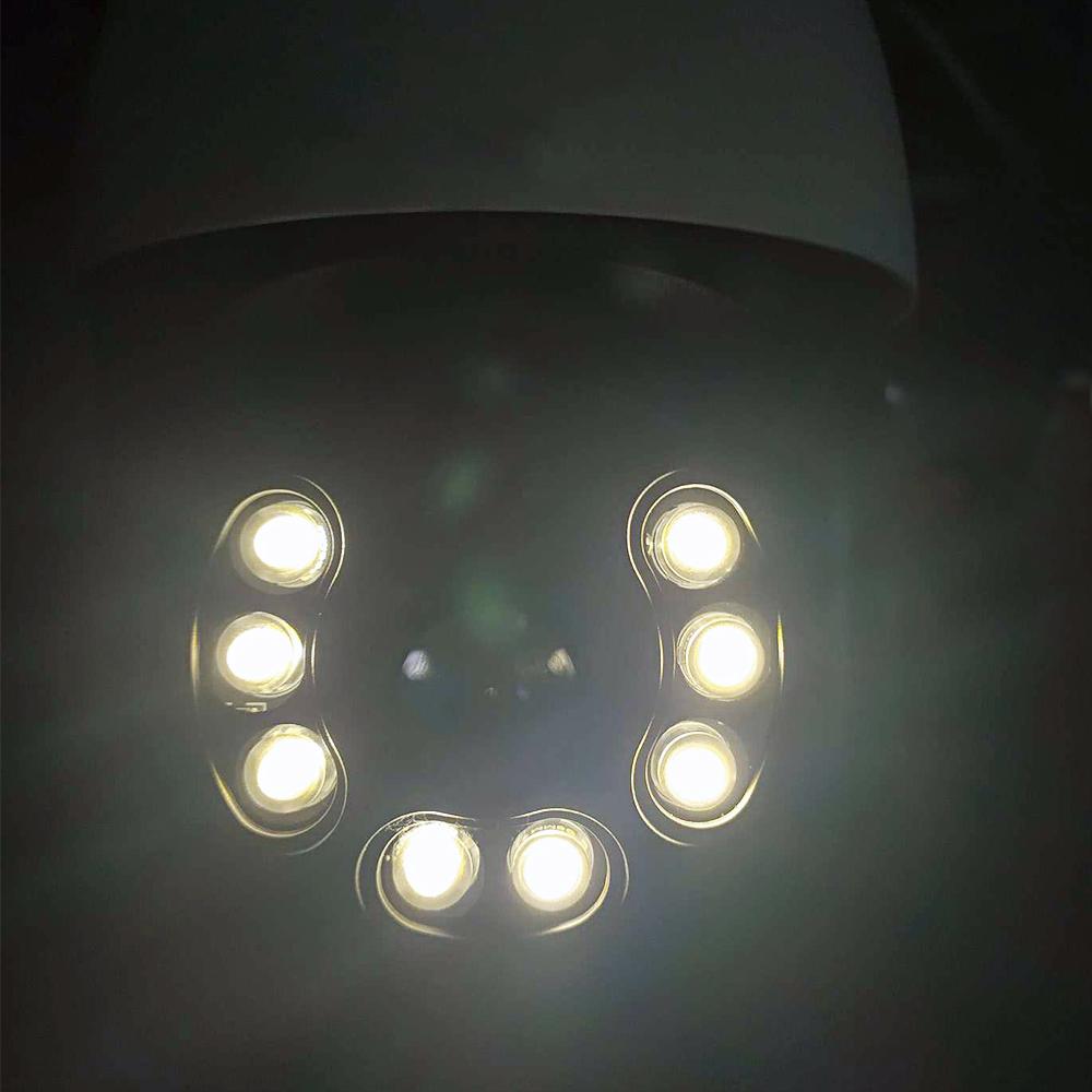 kamera alarm dzwiekowy i swietlny LED orllo-pl