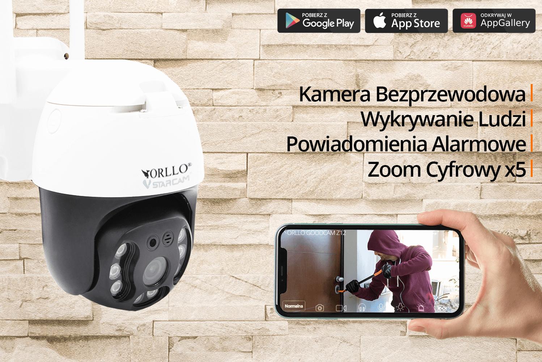 kamera zewnetrzna obrotowa ip wifi orllo.pl
