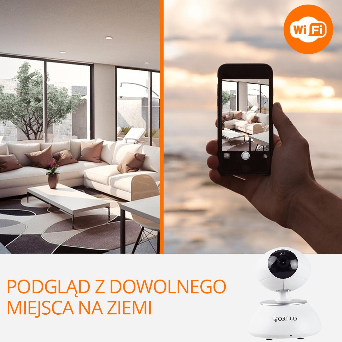 Centrala alarmowa kamera ip wifi zdalne sterowanie orllo.pl