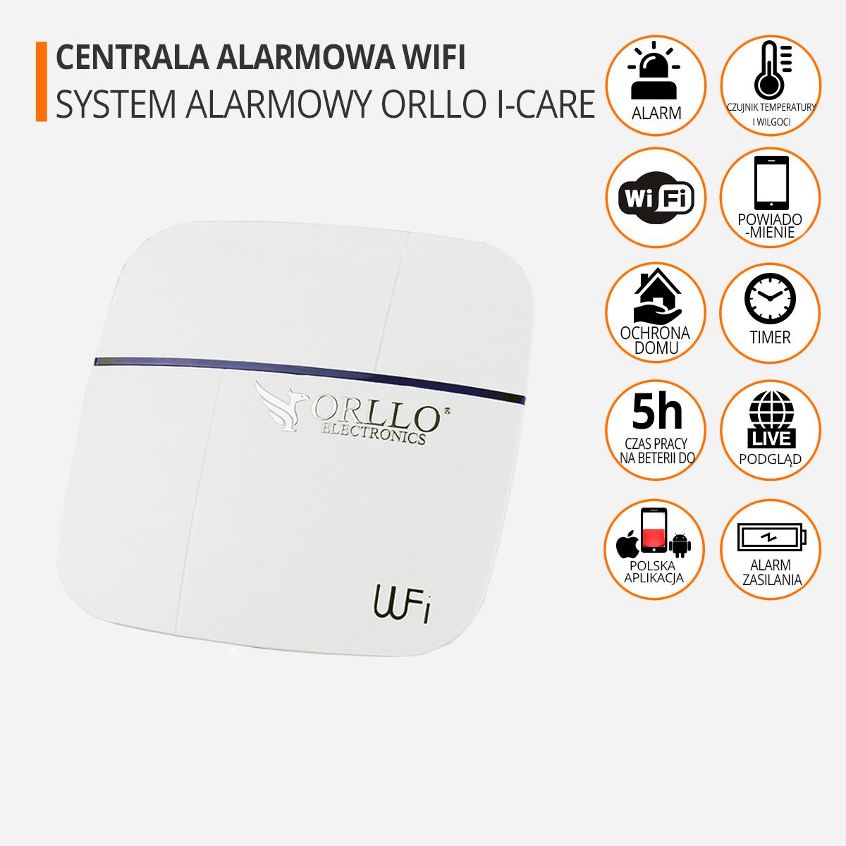 centrala alarmowa wifi funkcje orllo.pl