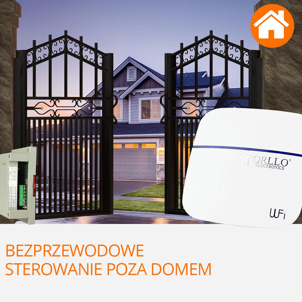 centrala alarmowa wifi sterowanie poza domem orllo.pl
