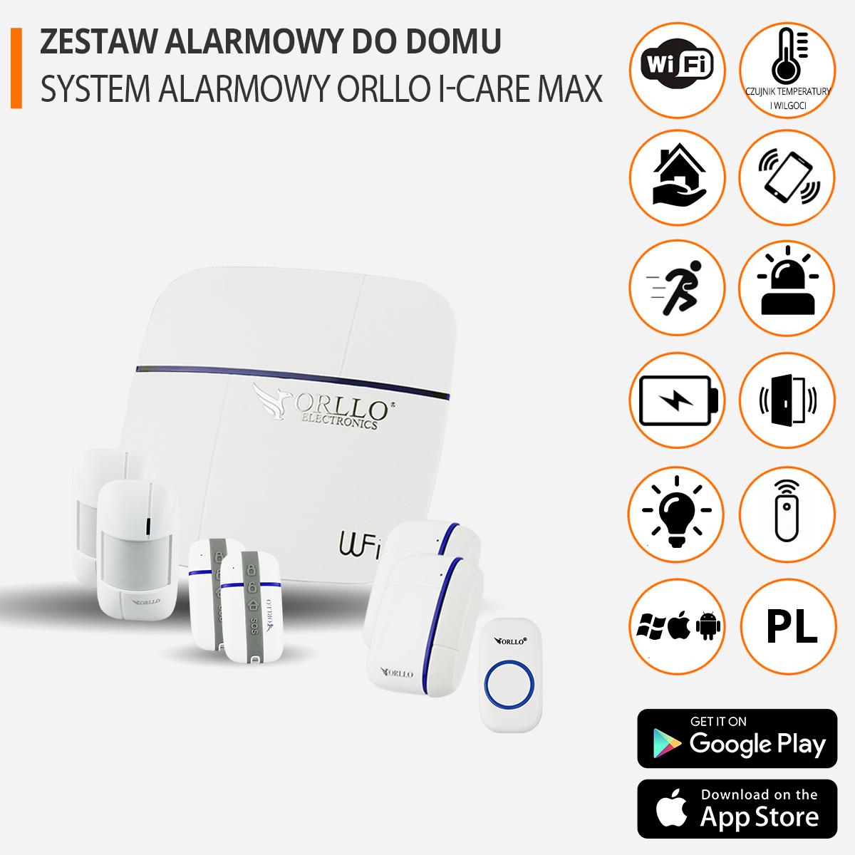zestaw alarmowy do domu funkcje orllo.pl
