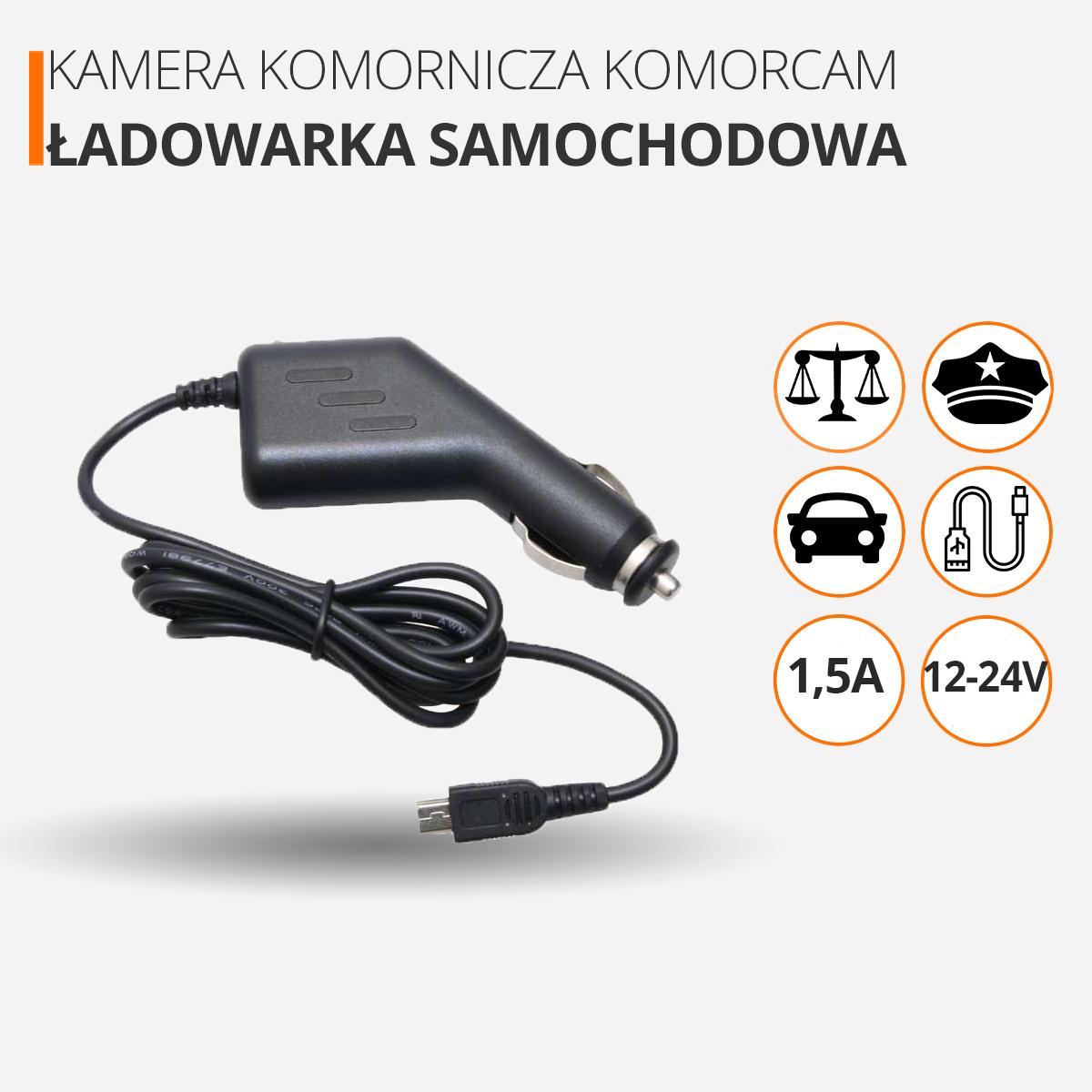 Kamera nasobna komornicza dla policjanta orllo.pl