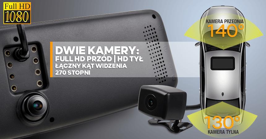 kamera samochodowa - kat widzenia 270 stopni - orllo.pl