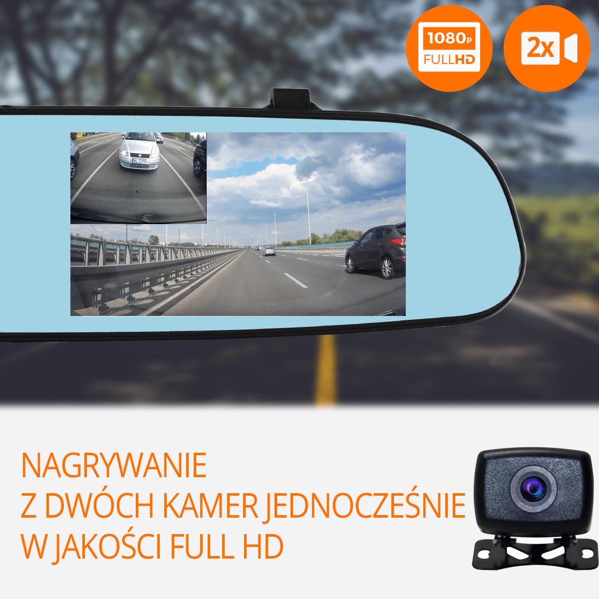 Kamera-samochodowa-nagrywanie-dwie-kamery-fullhd-orllo-pl