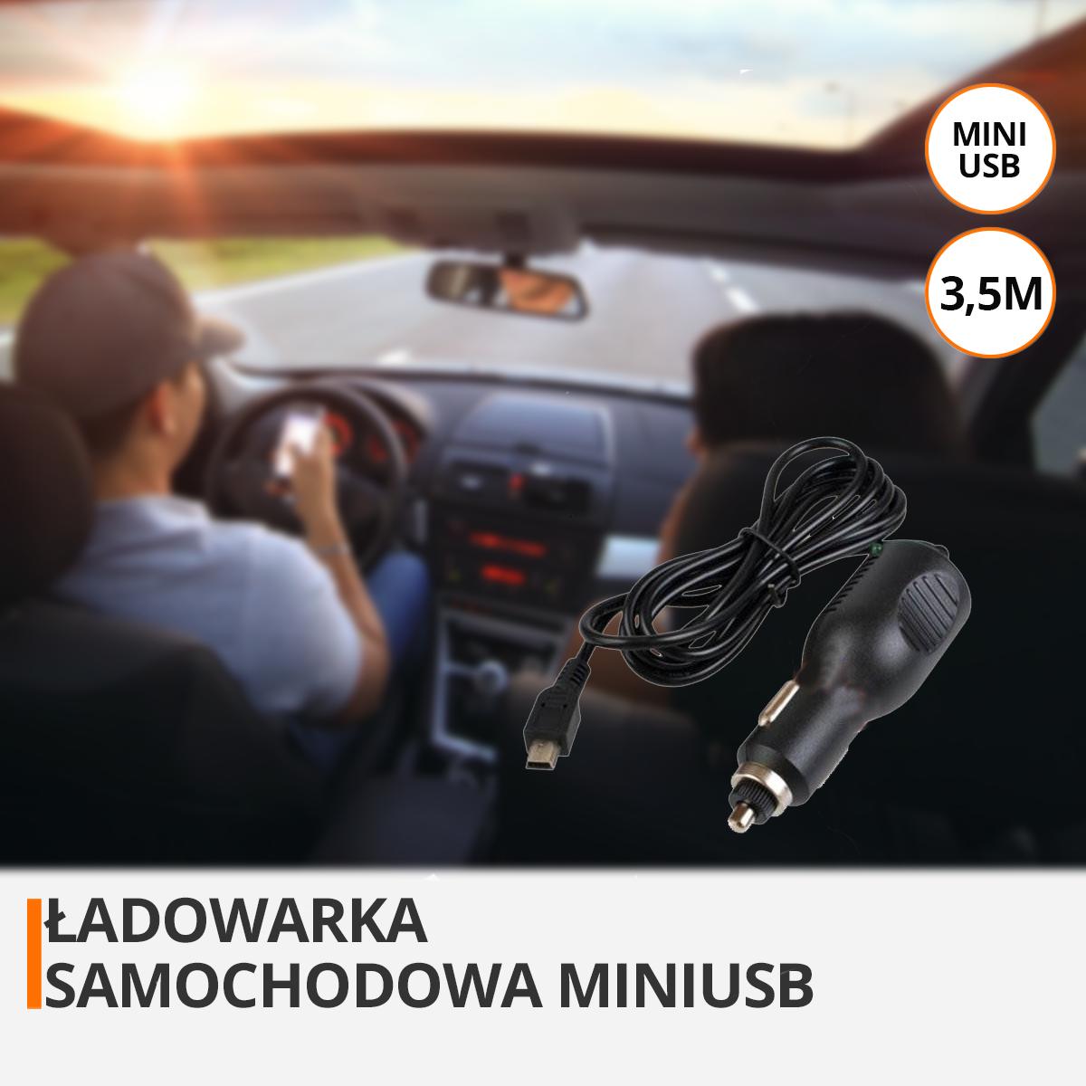 ładowarka do kamery samochodowej orllo.pl